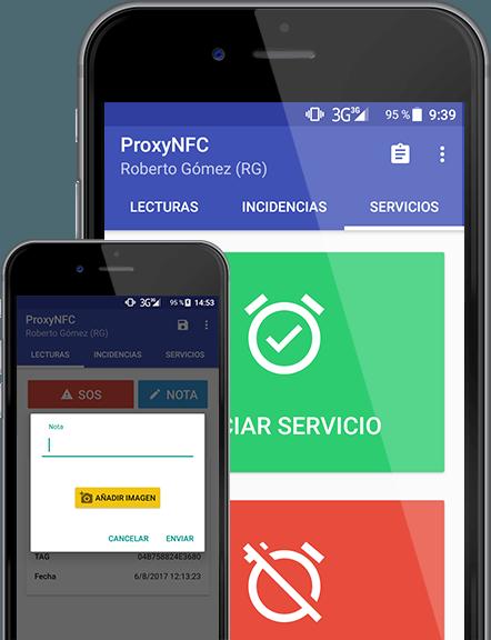 Header Proxy NFC